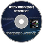 Artistic Image Creator Software Kit CD