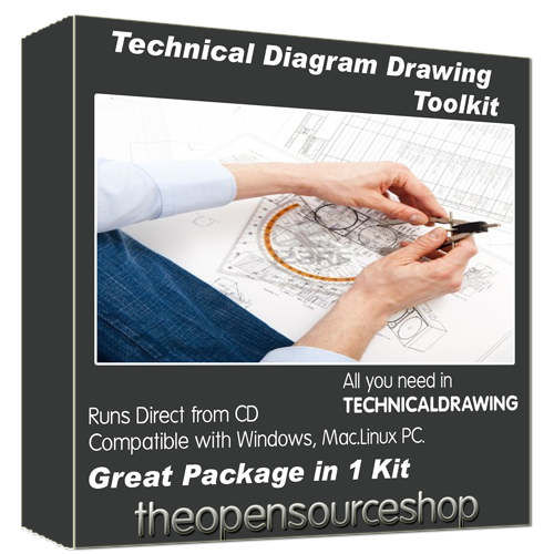 Technical Drawing Software Kit Draw Professional Level