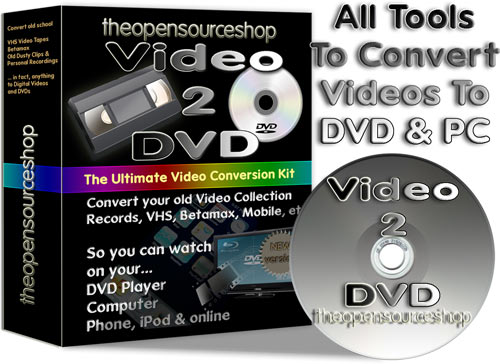 Video 2 DVD Video Conversion Kit